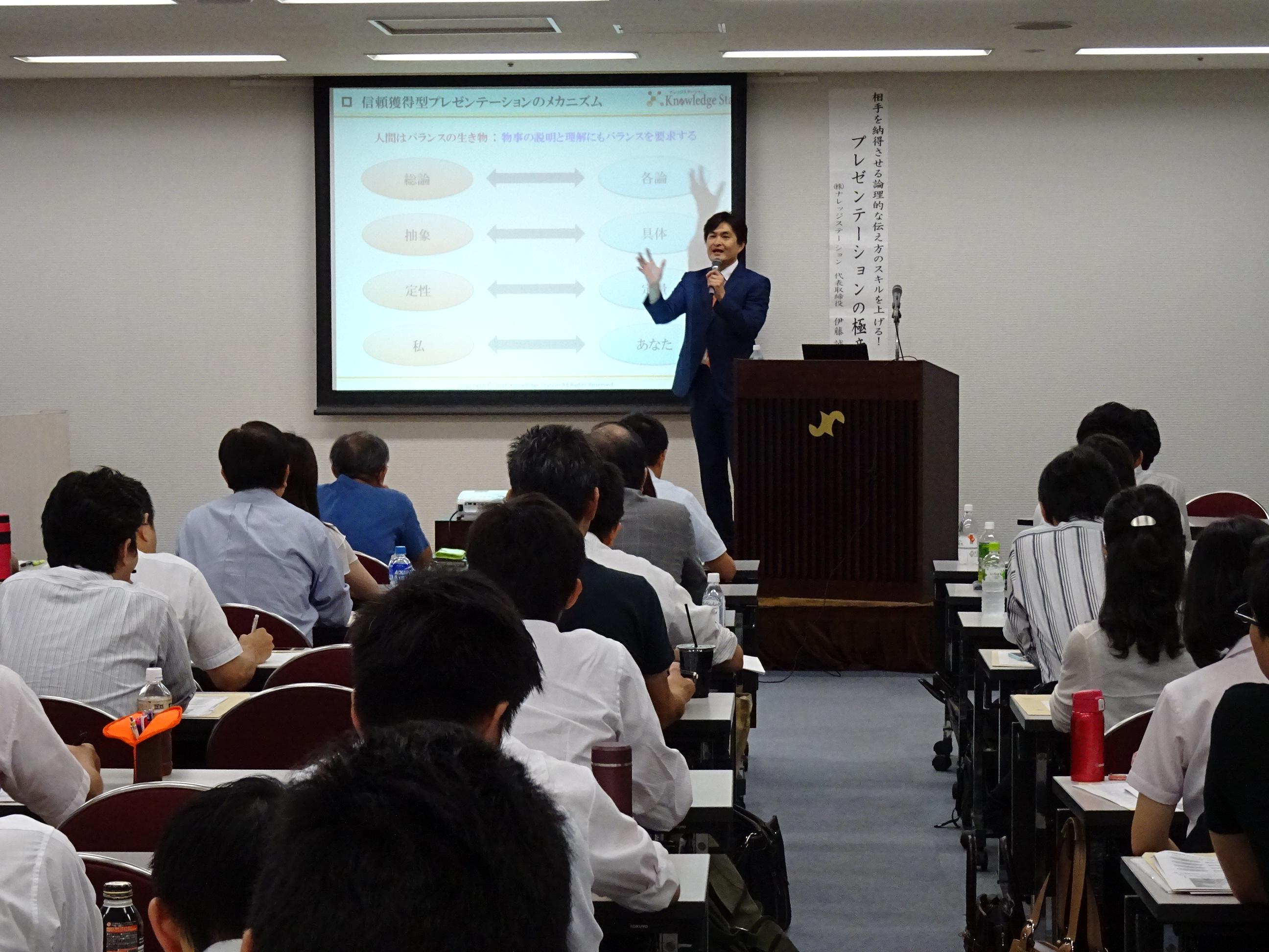 【坂戸】商談成約率UPへ!プレゼンの基礎知識と実践法画像01